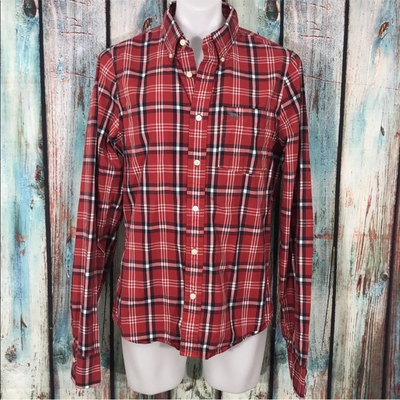 7115045e Shirts | Abercrombie Fitch Muscle Fit Mens | Poshmark